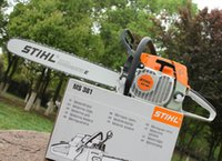 Wholesale Stihl MS381 chainsaw with inch or inch solid bar and saw chain