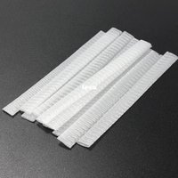 Wholesale 1000 White Make Up Cosmetic Brushes Guards Most Mesh Protectors Cover Sheath Net Without Brush