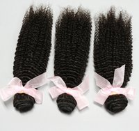 Cheap Nice Attractive Hair!Brazilian Malaysian Peruvian Indian Virgin Hair 3pcs Kinky Curly Human Hair Extensions Hair Weave 100g pcs 6A Grade