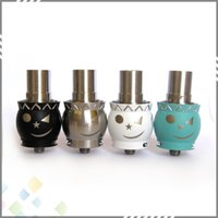 bears snow - Snow Man RDA Rebuildable Atomizer with wide Bore Drip tip Stainless Steel Snowman adjustable Airflow RDA Fit Mods DHL Free