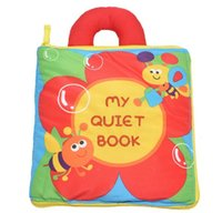 bee books - Newest arrival soft baby toy multi purpose cloth book flower bee my quiet book creative gift pc