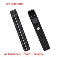 Wholesale Professional Handheld Handyscan Scanner DPI Portable Document Book Photo A4 Color Scanner order lt no track