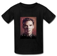 benedict cumberbatch shirt - 2015 New Best Cotton Men T Shirt Custom Benedict Cumberbatch Art Summer Man T Shirts Size S XXXL