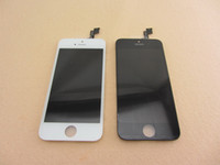 Wholesale Front Assembly For iPhone S LCD Digitizer Touch Screen Glass Panel Replacement No Dead Pixel Grade AAA With Midframe