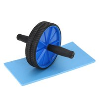 Wholesale New Abdominal Wheel Ab Roller with Mat for Man Woman Workout Exercise Fitness Equipment Abdominal Roller