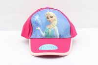 Wholesale HOT sale Frozen princess fashion cheap snapback hats high quality polo hats men s and women baseball cap cotton