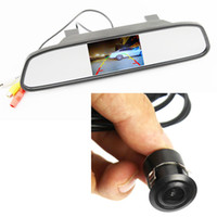 Wholesale Waterproof TVL mm Lens Angle HD CCD Car Rearview Parking Camera With Inch TFT LCD Monitor For Reversing Backup