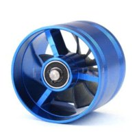 Cheap 1pcs Universal Single Turbo Fan Supercharger Car Dual F1-Z Air Intakes Fuel Gas Saver Propeller Turbonator ventilator booster M21529