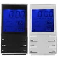 Cheap Household calendar alarm Best Hygrometer Household station clock