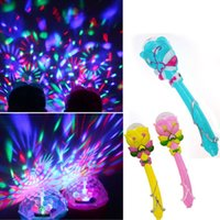 Wholesale Baby toys Stage Lighting Music Toy DJ Light Magic Wand Stick Toy Kids Stage Lighting Music Toy Children s Gifts