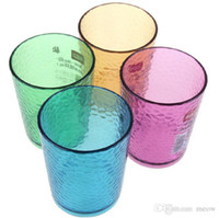 assorted tea cups - Colorful Water Cup Glass Water Mug Iced Tea Cup Tumblers in Assorted Colors ml OZ