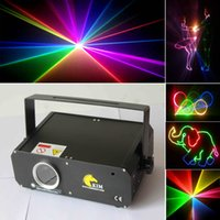 Wholesale Mini W D D RGB with SD Card nm laser beam and animation for disco dj stage ktv pub lighting