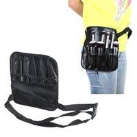 Wholesale 2015 New Professional Cosmetic Makeup Brush PVC Apron Bag Artist Belt Strap Protable Make up Bag Holder