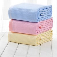 bamboo blanket king - Bamboo Fiber Towel Single Double Blanket Children Summer Cool Thin Sheet Is Lunch Break Air Conditioning
