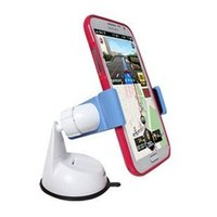 Wholesale Cell Phone Mounts Holders for phone tablet MP4 GPS and E Reader on car steering wheel free your hands easy to carry and use