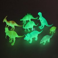 Wholesale Hot Selling SET Night Light Noctilucent Dinosaur Figure Child Toy Gift Kid Children