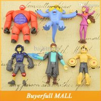 beast wars toys - New Marvel Movie cm Beast Corps Garage Kits Big Hero Baymax PVC Minion Toys Pocoyo Super Heroes Fat Machine