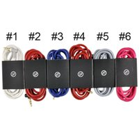 mixr - Colorful AUX Cable with mic controltalk MM for Beats Studio Heaphones Car AUX solo HD MIXR Extension Audio AUX Male to Male