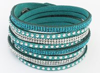 leather cuff bracelet - 2015 New Colors New Unisex Multilayer Leather Bracelet Christmas Gift Charm Bracelets Vintage Jewelry For Women Pulsera