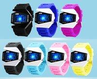 Wholesale Skmei Man Fashions Men Sports Military Watches ATM Digital Airplane Shaped Fashion LED Colorful Light Men Watch Black