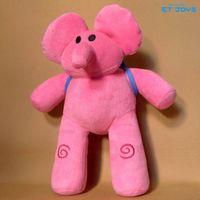 plush elephant - Pocoyo Elly Elephant Plush Toys inch CM Cartoon Figure Stuffed Toys Elegant Flexible Elephant Elly Pato Loula Dolls Toys