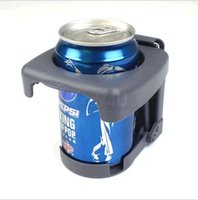 Wholesale 2x High Quality Grey Pickup SUV Truck Car Van Folding Adjustable Drink Cup Holder High Quality