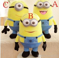 Wholesale Hot Selling Minion Despicable Me Eyes Yellow Kid Birthday Gift Children Plush Stuffed Toys Doll Big Size Little Girls Gift MYF13