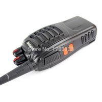 Wholesale BaoFeng BF S Cheap Walkie Talkie s UHF MHz Interphone Transceiver A0784A Two Way PMR Radio Handled Intercom BF001