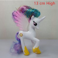 Wholesale My Pony Friendship Is Magic Little Cute PVC Pony Princess Celestia Princess Luna Toys Action Figures