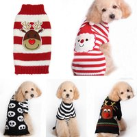 apparel clothing designs - Hot Xmas Reindeer Design Lovely Puppy Pet Cat Dog Sweater Knitted Coat Apparel Clothes Sizes CHristmas