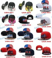 patriotic caps - 2015 new USA Flag Patch USA American Patriotic Polo Style ADJUSTABLE SNAPBACKs Baseball CAP HAT Caps Hats Cheap fashion street SNAPBACK cap