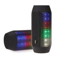 audio parties - Portable Wireless Bluetooth Speaker Stereo Sport Digital Speakers Colourful Pulse LED Light TF FM For Party DJ Bluetooth Mini Speaker