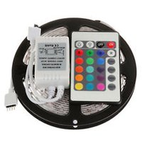 Holiday led flexible strip - Fast Arrive led m roll Non Waterproof waterproof RGB LED Flexible Strip Lights key