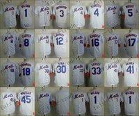 pinstripe baseball jerseys - Newest New York Mets Baseball Jersey White Pinstripe Darryl Strawberry Dwight Gooden Tom Seaver Wilsons Dykstra Harvey Wright