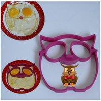 Wholesale 1PC High Quality Silicone Mold Owl Egg Ring Breakfast Eggs Mould DIY Kitchen Cooking Tools Z365