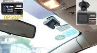 Wholesale 270 degree Rotating Car DVR Recorder DP500 Full HD Vehicle Cameras Camcorder P Vehicle Black Box DVR Night Version Wide Angle Lens