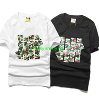 Cheap 2015 New UNDEFEATED BAPE Camouflage Logo T-Shirts Trend Fashion Men Hip Hop Street Skateboard T-Shirt Cotton O-Neck T-Shirts Tee