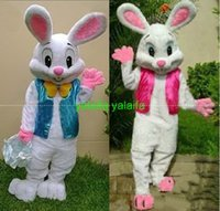 easter bunny costumes - fast sell like hot cakes PROFESSIONAL EASTER BUNNY MASCOT COSTUME Rabbit Hare Adult