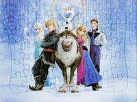 Wholesale Freeshipping Kids Frozen Puzzles Box D Puzzle Games and Magic Puzzle Toys Frozen pc D Puzzle