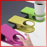 Wholesale Drink Cup Coffee Holder Clip Desk Table Home Office Use