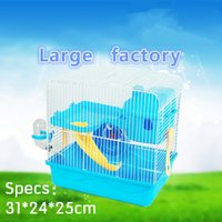 Wholesale 11 Global Shopping Festival Free transportation hamster cage The factory portable Cage For Hamster Bohr Hamster The cage