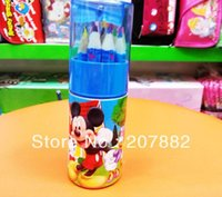 Wholesale Sets Mickey Moue Children Colored Pencil Cartoon Colors Pencil Stationery Set A2641