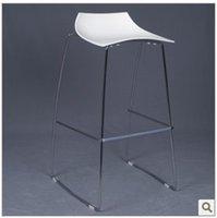 bar stools - Cleo Cleo Bar Stool Bar Stool Bar Stools simple fashion foot European style bar stool chair