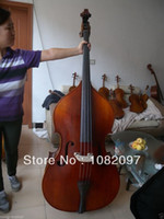 Wholesale Upright Double Bass Years Old Spruce Flamed Maple wood Powerful Sound