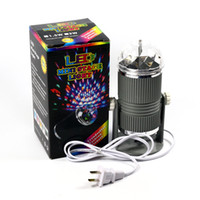 auto led bulbs uk - Free ePacket Mini Stage Light W RGB Rotating LED Bulb Colorful Effect Crystal Magic Ball Light for DJ Party Disco Bar KTV