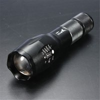Wholesale Lowest price UltraFire E17 CREE XM L T6 Lumens High Power Torch Zoomable LED Flashlight months warranty