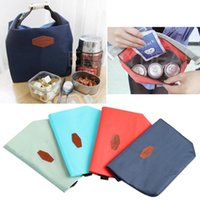 Wholesale NEW Waterproof Thermal Insulated Lunch Tote Carry Storage Picnic Pouch BAG HD3