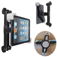 Wholesale 360 Rotation Adjustable Car Headrest Mount Holder Soporte Coche Tablet Stand for ipad inch Tablet PC