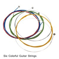 alice colorful guitar strings - Alice Colorful Guitar Strings Stainless Steel Coated Copper Alloy Design for quot quot quot Acoustic Guitar Price I768