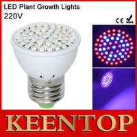 Wholesale Full Spectrum E27 LEDs Faster Growth Lights Red Blue Led Grow Lamps For Flowers Plant Hydroponics LED Bulb Lighting